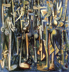 Wifredo Lam, The Jungle, 1943.