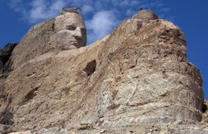 unfinished crazy horse memorial